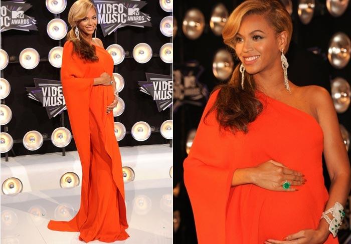 Beyoncé anuncia gravidez no tapete vermelho do VMA Getty Image/O Fuxico