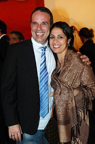 Dudu Braga e a mulher, Valeska Silva