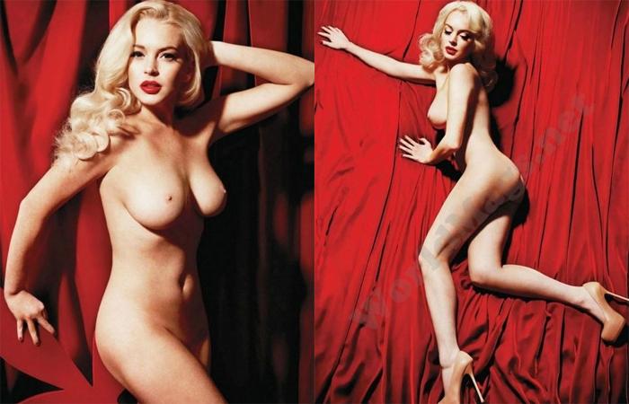 Fotos Nuas De Lindsay Lohan Na Playboy Vazam Web