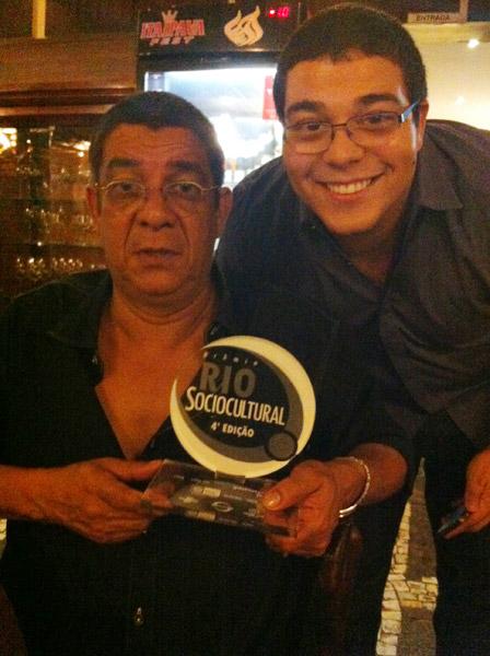 Instituto Zeca Pagodinho ganha prêmio por sua contribuição social