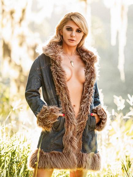 Playboy divulga novas fotos de ensaio nu de Antônia Fontenelle