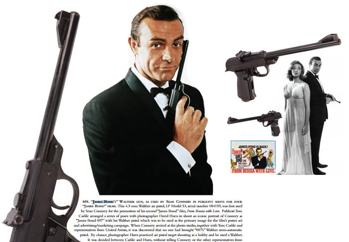 Fotos inéditas de Marilyn Monroe e pistola de James Bond serão leiloados