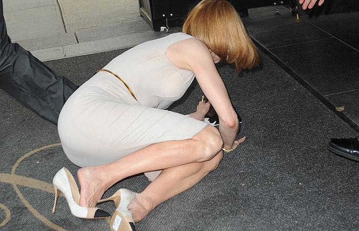 Paparazzo perde o freio da bicicleta e atropela Nicole Kidman