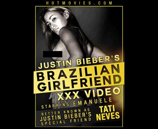 Brasileira que ficou com Justin Bieber já fez filme adulto
