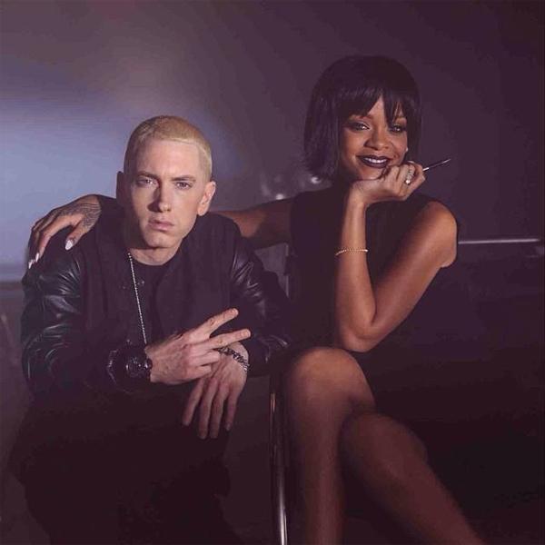 Rihanna grava clipe com Eminem