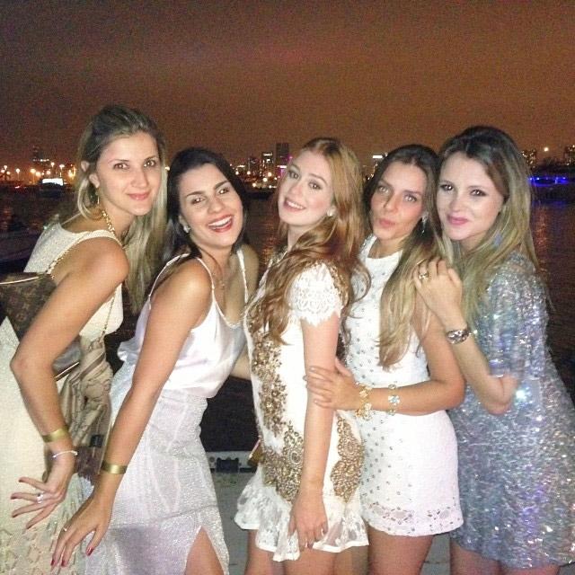 Marina Ruy Barbosa curte Fim de Ano com amigas, em Miami
