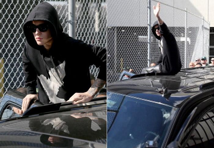 Justin Bieber paga fiança e deixa a prisão