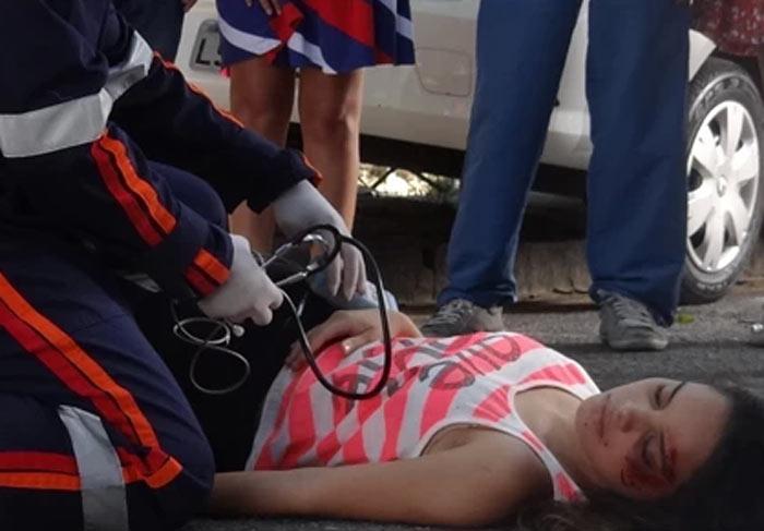 Em Família: Gorete é atropelada e fica em estado grave