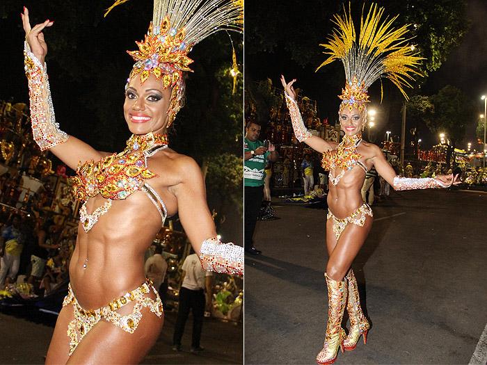 Saiba quais foram as musas que passaram pela Sapucaí neste segundo dia de desfiles