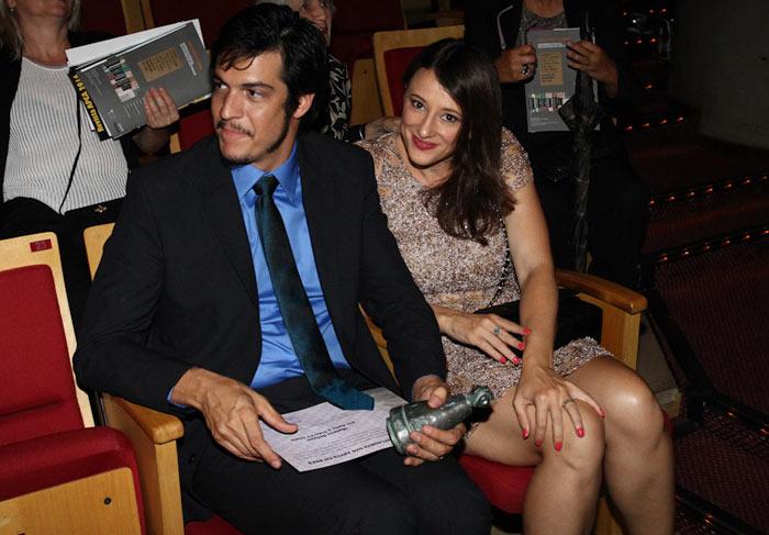Mateus Solano e a mulher