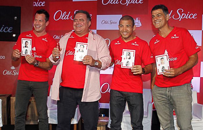 Malvino Salvador apresenta nova marca de desodorantes em São Paulo