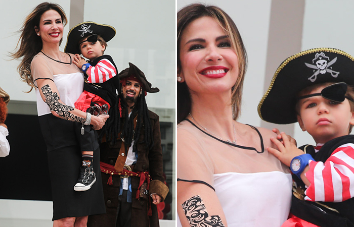 Luciana Gimenez celebra aniversário de seu caçula, Lorenzo
