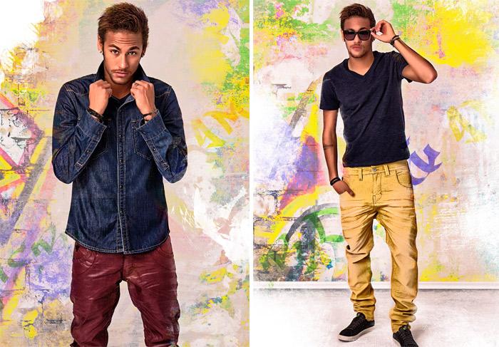 Ligado em moda, Neymar lança sua nova coleção de inverno