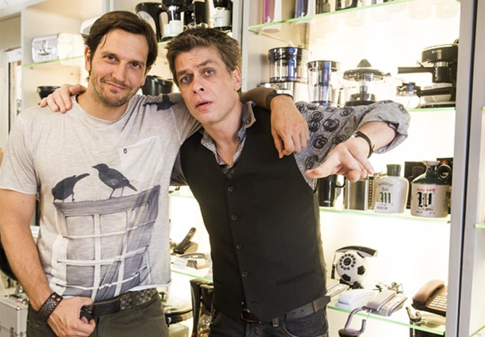 Armane (Vladimir Brichta) e Jorge (Fabio Assunção)