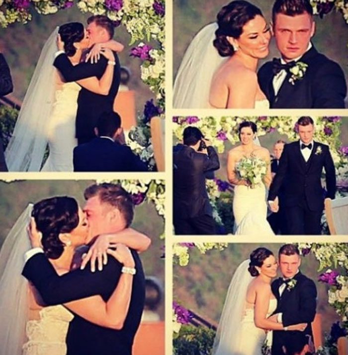 Nick Carter e Lauren Kitt