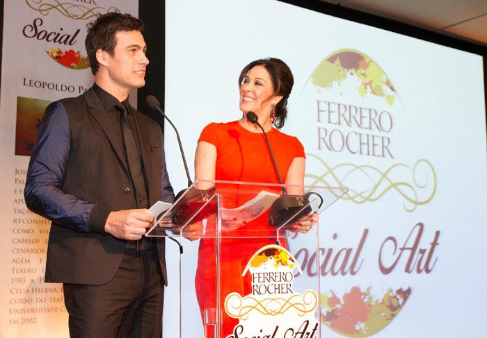 Carlos Casagrande e Claudia Raia