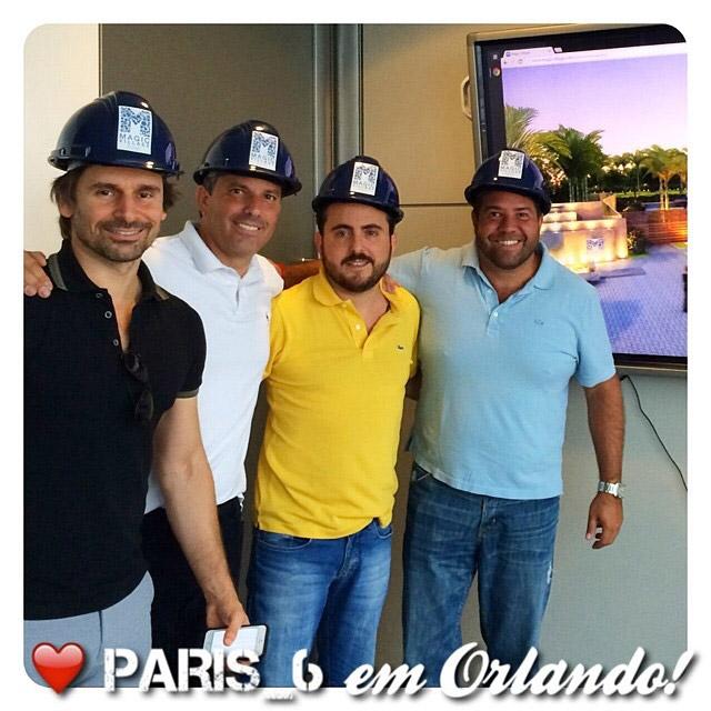 Murilo Rosa lança filial de restaurante em Orlando