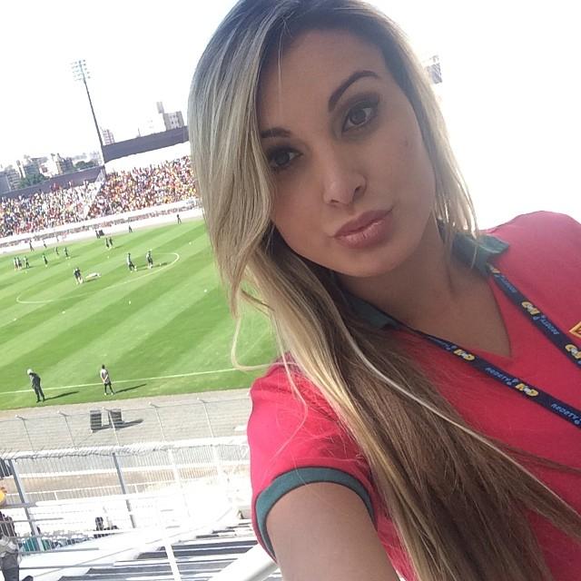 Andressa Urach é expulsa do treino de Portugal em Campinas