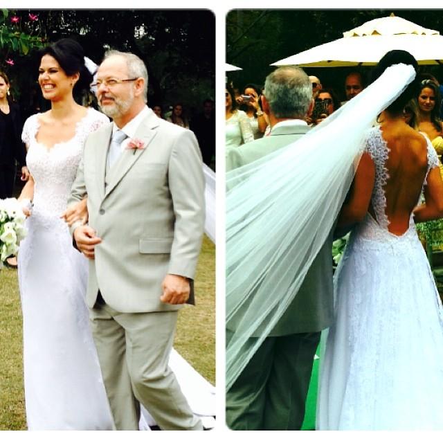 Rodrigo Andrade se casa com Joyce Álvares  no interior de São Paulo