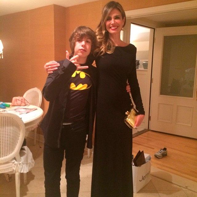 Luciana Gimenez e Lucas Jagger vão juntos ao aniversário de Mick Jagger