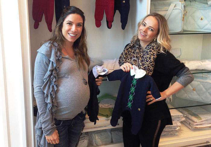 Patrícia Abravanel faz últimos preparativos antes da chegada do filho