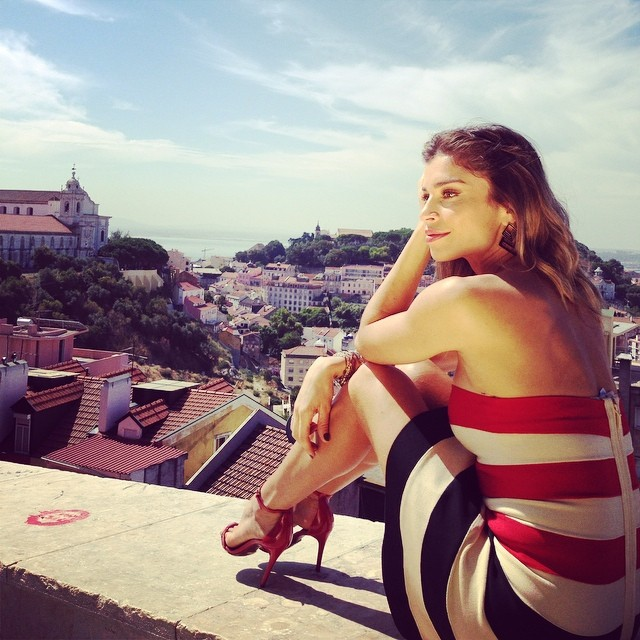 Grazi Massafera viaja a Portugal para divulgar novela