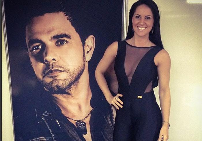 Zezé di Camargo elogia namorada em foto nas redes sociais