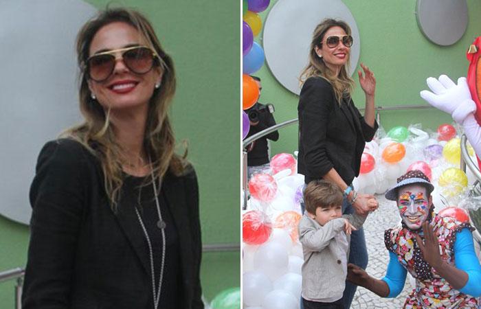 Marcos Mion e Suzana Gullo celebram os seis anos de Donatella