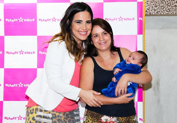Wanessa retoma agenda de compromissos, três meses após dar à luz