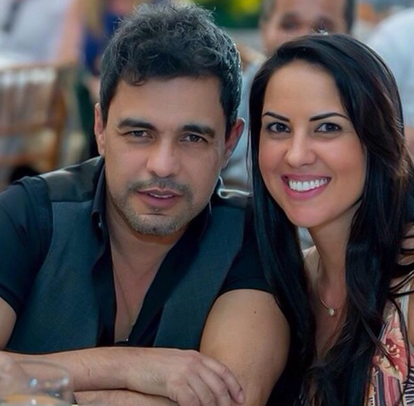 Após polêmica com Zilu, Zezé di Camargo se declara para Graciele Lacerda
