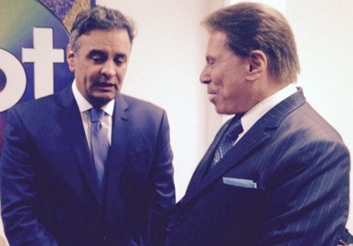 Antes de debate no SBT, Silvio Santos recepciona candidatos à presidência
