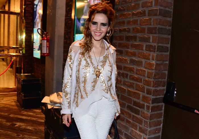 Eliana assiste a show de Maria Bethânia, em São Paulo