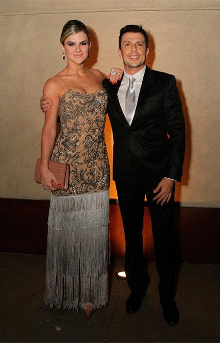 Mirella Santos e Wellington Muniz são padrinhos de casamento do Rodrigo Scarpa