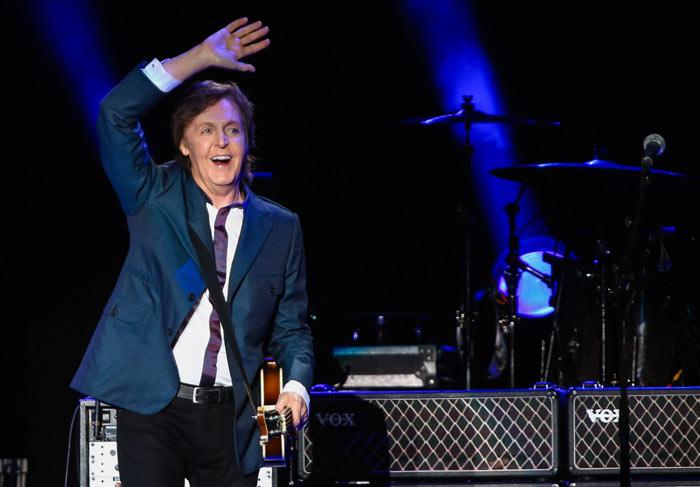 Paul McCartney se apresenta em São Paulo