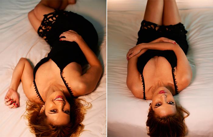 Raquel Nunes posa para ensaio sexy de revista masculina