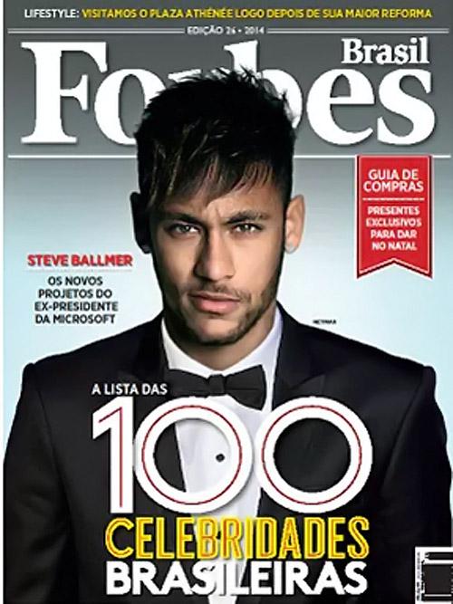 Neymar é a celebridade mais poderosa do Brasil