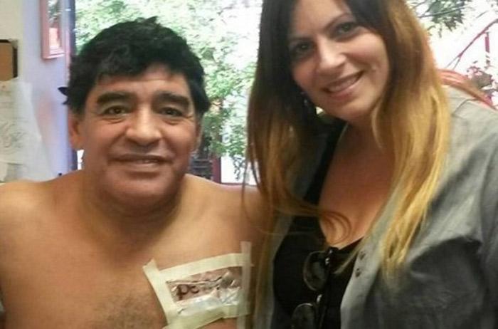Maradona se envolve em mais uma polêmica