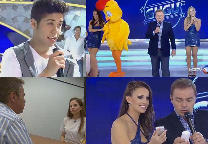 Gugu Liberato volta à tv dando trabalho para a concorrência. Saiba a audiência!