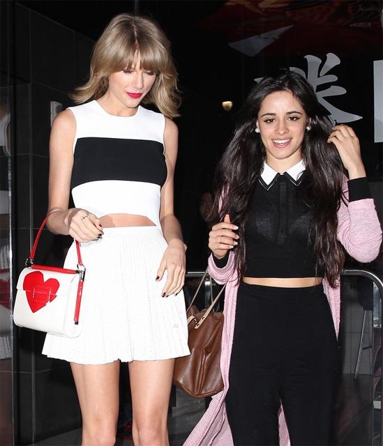 Ela estava com a cantora do Fifth Harmony, Camila Cabello