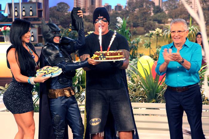 Quadro Batman e Robin completa 15 anos em A Praça é Nossa
