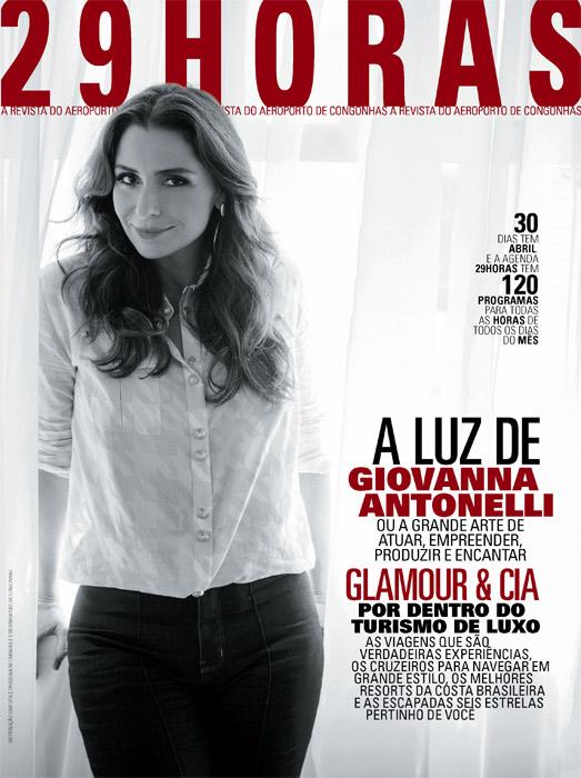 Giovanna Antonelli diz que não hesitaria em mudar de profissão se acontecesse