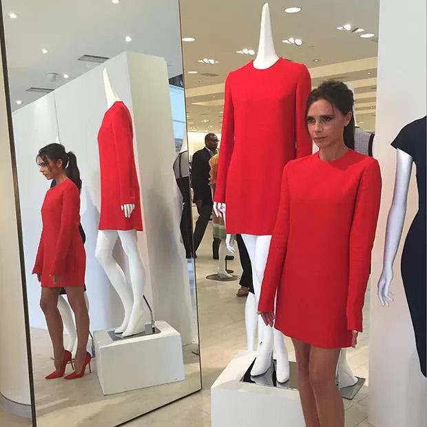 Victoria Beckham lança coleção em parceria com Barneys