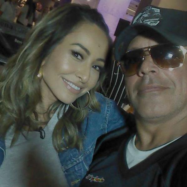 Sabrina Sato e mais famosos soltam a voz na torcida em dia de jogo do Corinthians