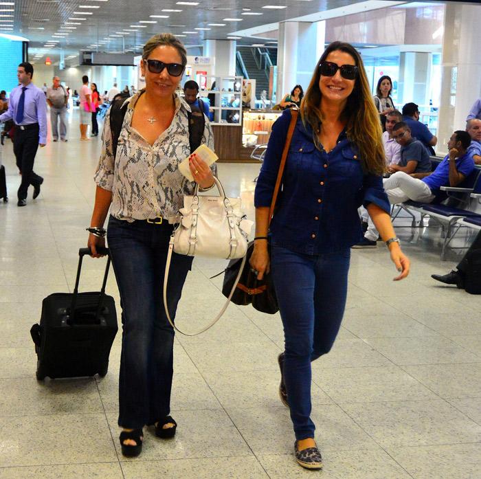 Heloísa Perissé e Alexandre Pires deixam o Rio de Janeiro