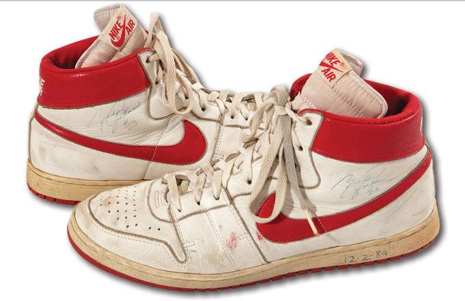 (Ara) Tênis usado por Michael Jordan é comprado por quantia milionária