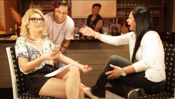 Antônia Fontenelle usa rede social para anunciar Gretchen como a próxima convidada de seu programa. Vídeo!