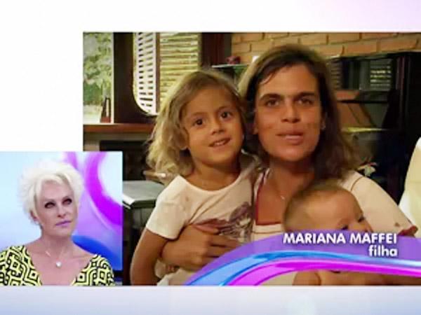 Ana Maria Braga cai em lágrimas com homenagem dos filhos antes do Dia das Mães