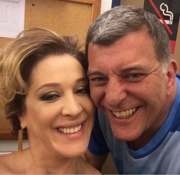 Claudia Raia tieta Jorge Fernando, diretor de Alto Astral: 'Meu amor eterno por você'