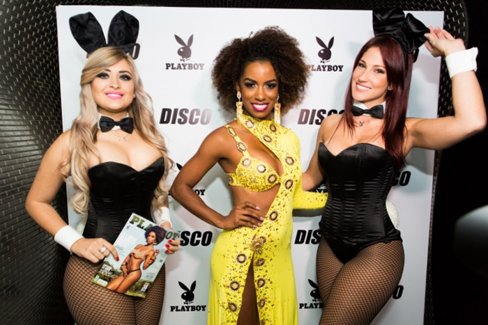 Ivi Pizzott mostra todo o seu estilo na festa de lançamento de sua Playboy