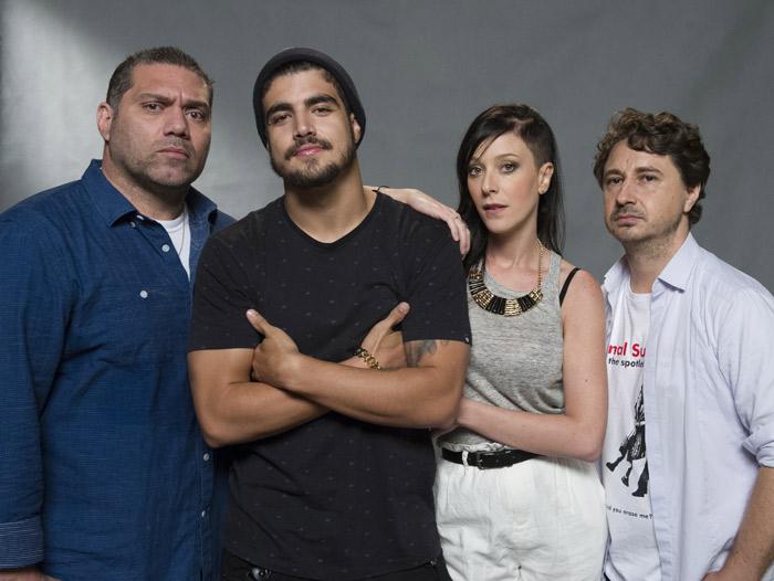 Prestes a estrear em I Love Paraisópolis, Márcio Rosário é só elogios a Bruna Marquezine